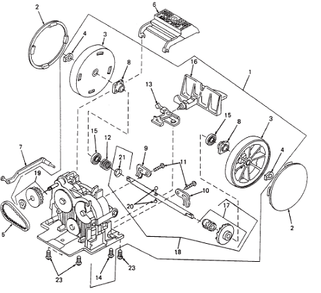 Dyson Dc65 Animal Vacuum Parts Diagram
